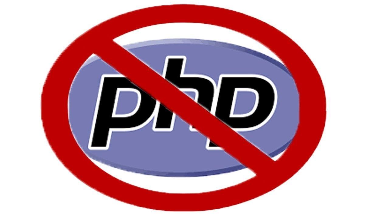 no php logo